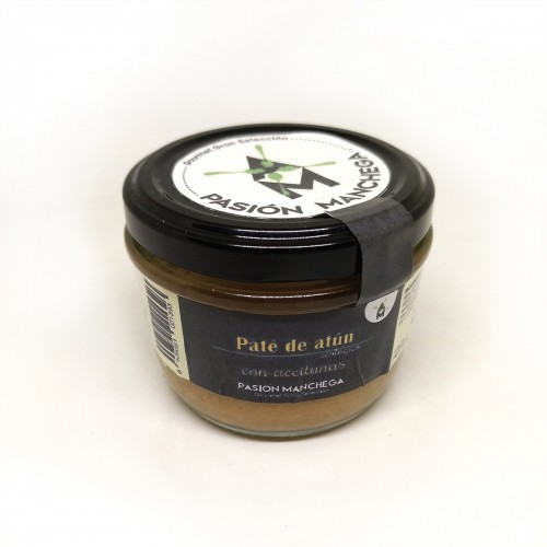 ORGANIC TUNA PATE WITH OLIVES 125G
